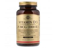 Solgar Vitamin D3 1000 МЕ
