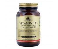 Solgar Vitamin D3 2200 МЕ