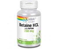Solaray Betaine + pepsin