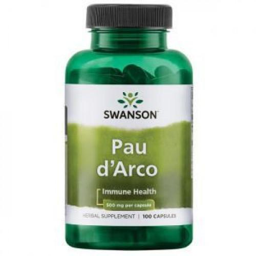 Фото Swanson Pau d'Arco 500 mg