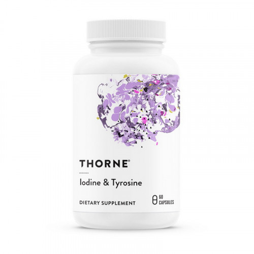Фото Thorne Research Iodine & Tyrosine 60 капсул