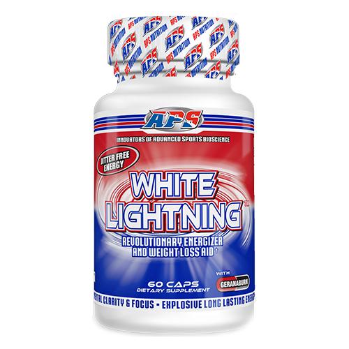 Фото APS White Lightning, жиросжигатель с геранью