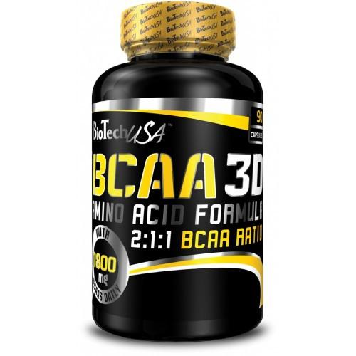 Фото BioTech BCAA 3D, аминокислоты bcaa