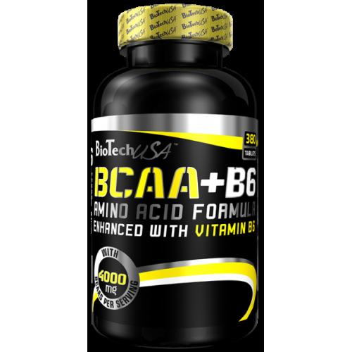 Фото BioTech bcaa+B6, аминокислоты BCAA