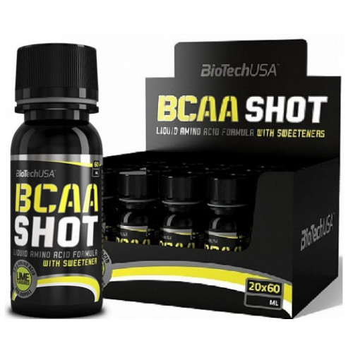 Фото BioTech BCAA Shot, жидкие bcaa