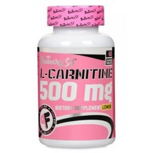Фото BioTech L-Carnitine 500 mg, л карнитин 500 мг