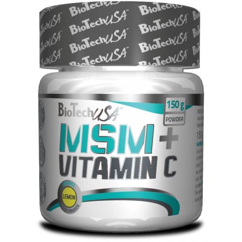 Фото BioTech MSM + Vitamin C, хондропротектор