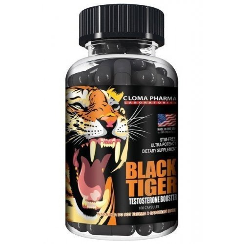 Фото Cloma Pharma Black Tiger, повышающий тестостерон
