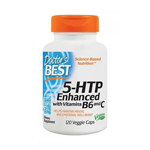 Фото Doctors BEST5-HTP Enhanced with Vitamins B6 and C, триптофан