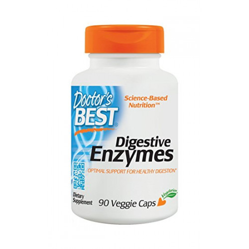 Фото Doctor's BEST Digestive Enzymes, ферменты