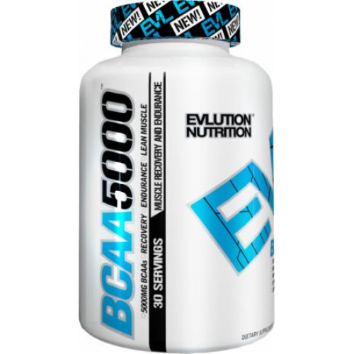 Фото EVLUTION Nutrition BCAA 5000, аминокислоты