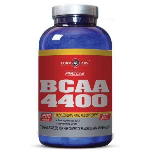 Фото Form Labs BCAA 4400, аминокислоты