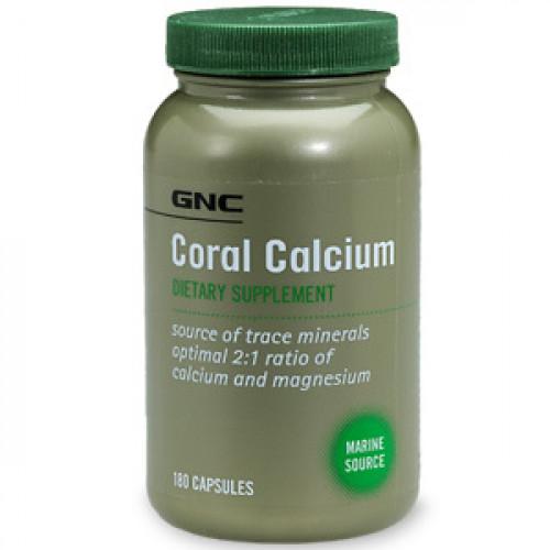 Фото GNC Coral Calcium, витамины и минералы