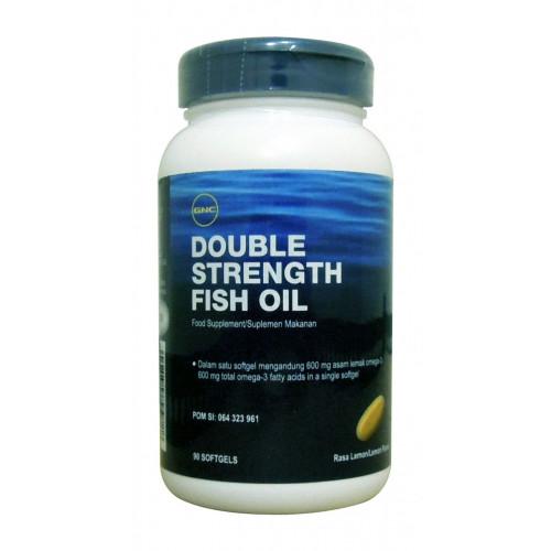 Фото GNC Double Strength Fish Oil, рыбий жир