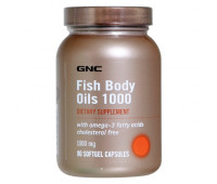 GNC Fish Body Oils 1000