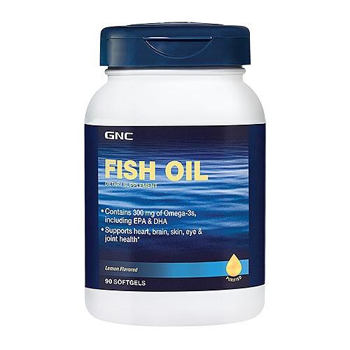 Фото GNC Fish Oil 1000, рыбий жир
