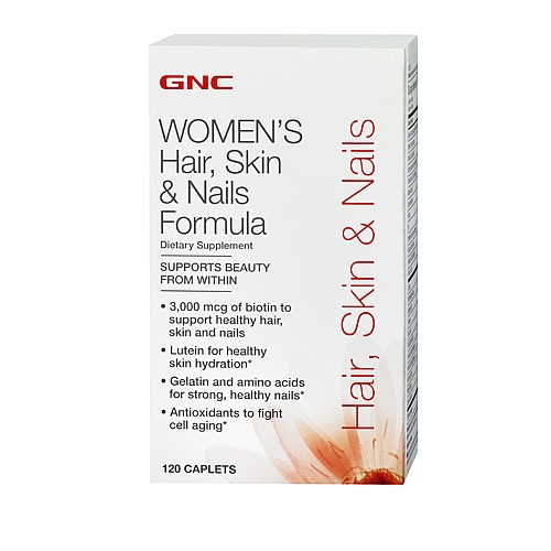 Фото GNC Women`s Hair Skin & Nails Formula, Мультивитамины
