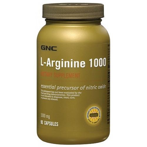 Фото GNC L-Arginine 1000, аргинин