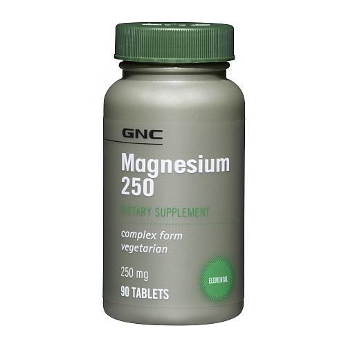 Фото GNC Magnesium 250, Магний