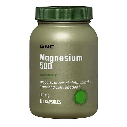 Фото GNC Magnesium 500, Магний