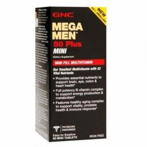 Фото GNC Mega Men 50 Plus mini