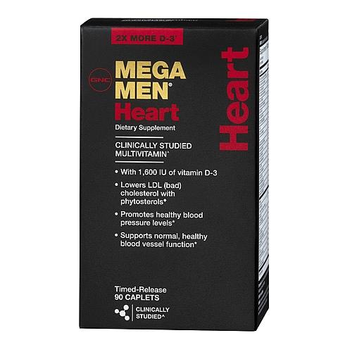 Фото GNC Mega Men Heart, витамины и минералы