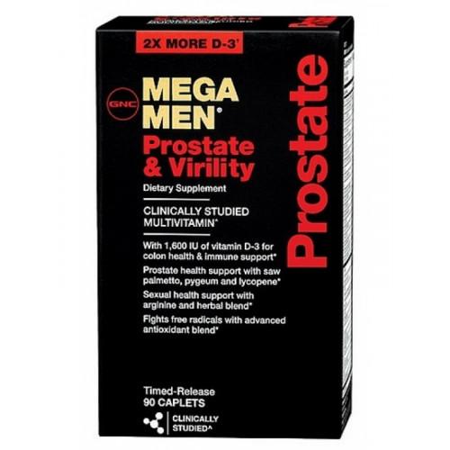 Фото Mega Men Prostate & Virility, мужские витамины