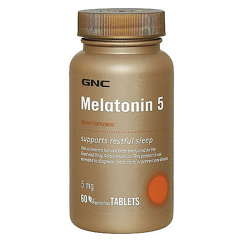 Фото GNC Melatonin 5, Мелатонин