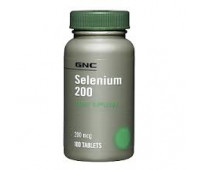 GNC, Selenium 200 mcg