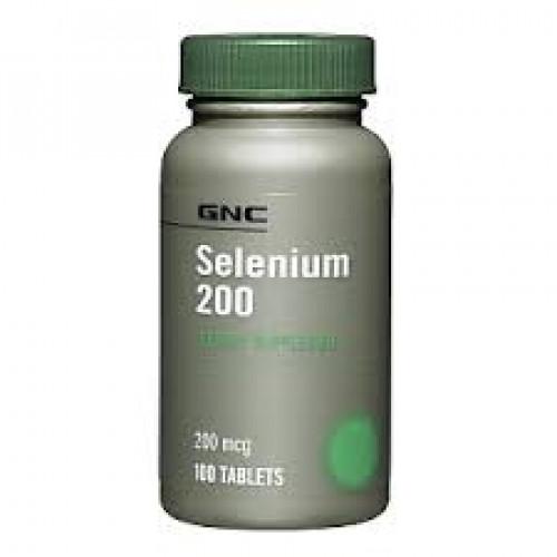Фото GNC, Selenium 200 mcg, селен
