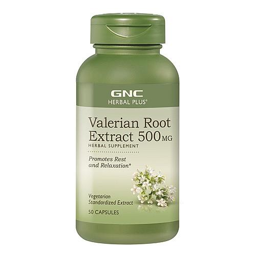 Фото GNC Valerian Root 500 mg, валериана