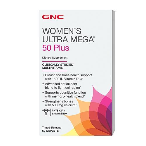 Фото GNC Women`s Ultra Mega 50 Plus, мультивитамины