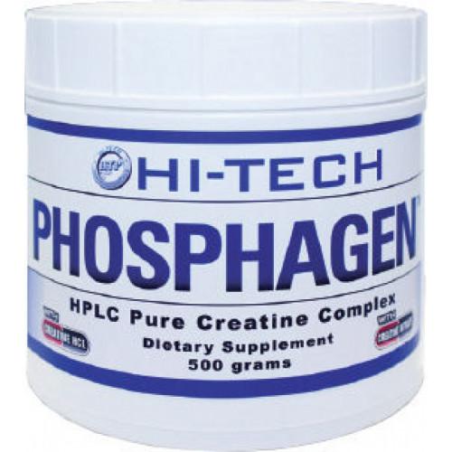 Фото Hi-tech pharma Phosphagen, многокомпонентный креатин