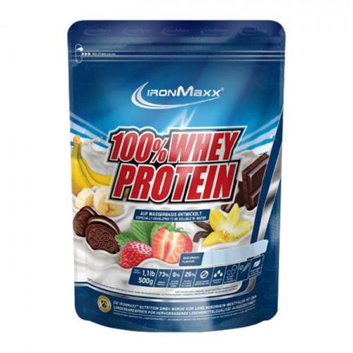 Фото IronMaxx 100% Whey Protein. сывороточный протеин