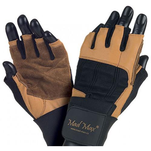 Фото MadMax PROFESSIONAL MFG 269, перчатки с обмоткой на кисти