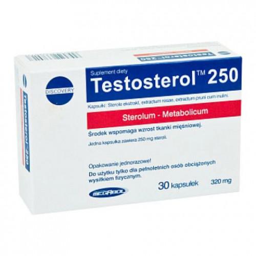Фото Megabol Testosterol 250, натуральный анаболик тестостерон