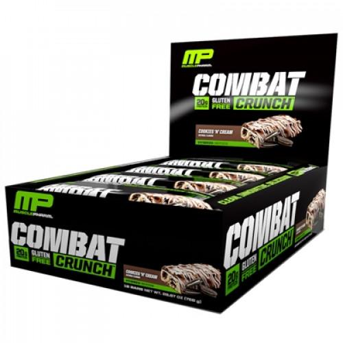 Фото Muscle Pharm Combat Crunch, протеиновые батончики