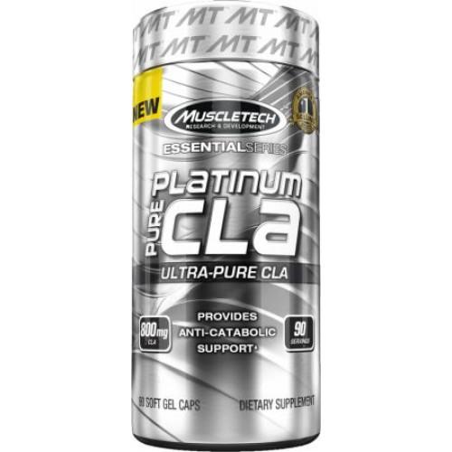 Фото MuscleTech Platinum Pure CLA, жиросжигатель