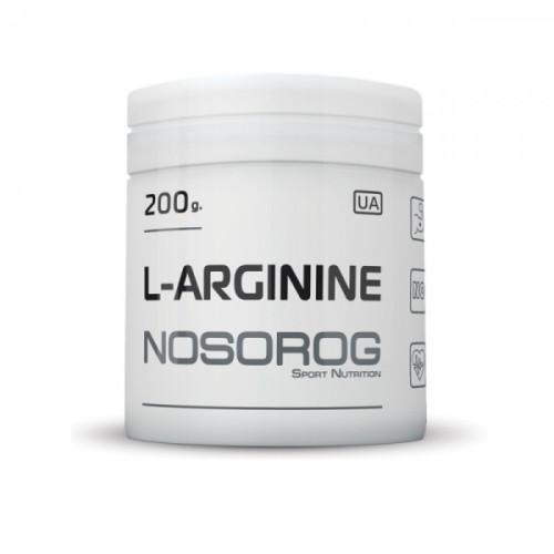Фото Nosorog L-Arginine 200 грамм