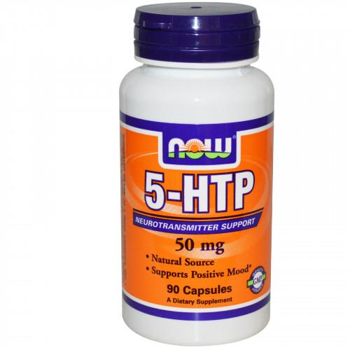 Фото NOW 5-HTP 50 mg