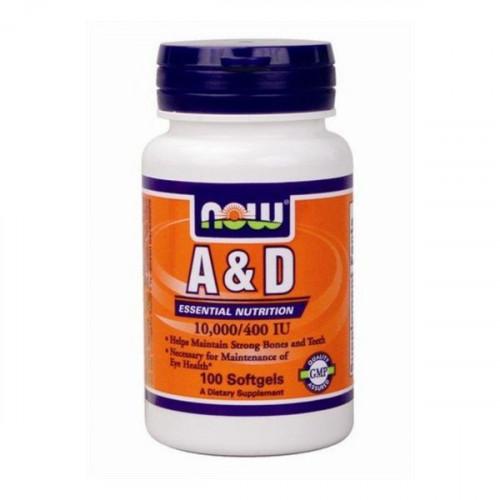 Фото NOW A&D, витамины
