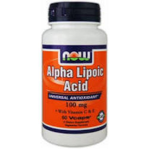 Фото NOW Alpha Lipoic Acid 100 mg