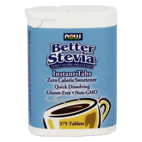 Фото NOW Better Stevia instant tabs, пищевой заменитель