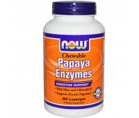 NOW Chewable Papaya Enzyme