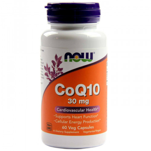 Фото NOW CoQ10 400 mg, Коэнзим Q10
