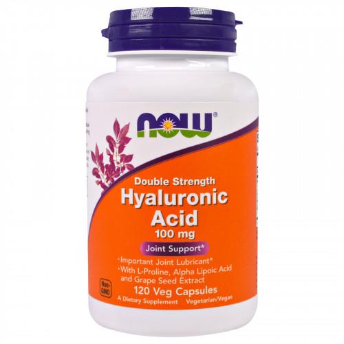 Фото NOW Foods Hyaluronic Acid 100mg