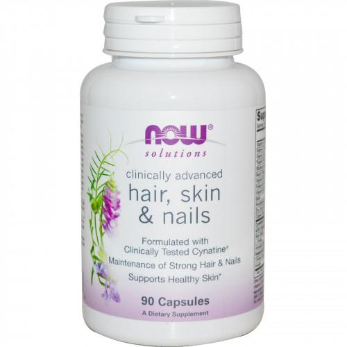 Фото NOW Hair, Skin & Nails, витамины