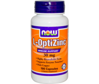 NOW L-OptiZinc 30 mg