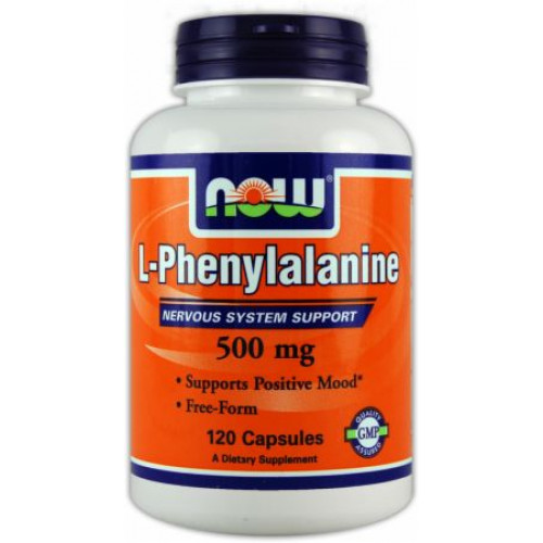 Фото NOW L-Phenylalanine, фенилаланин