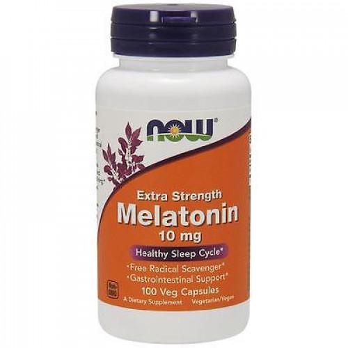 Фото NOW Melatonin 10 mg extra strength
